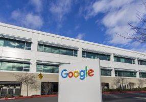 February 4, 2018 - Kirkland, WA, USA: A Google campus on a cloudy day